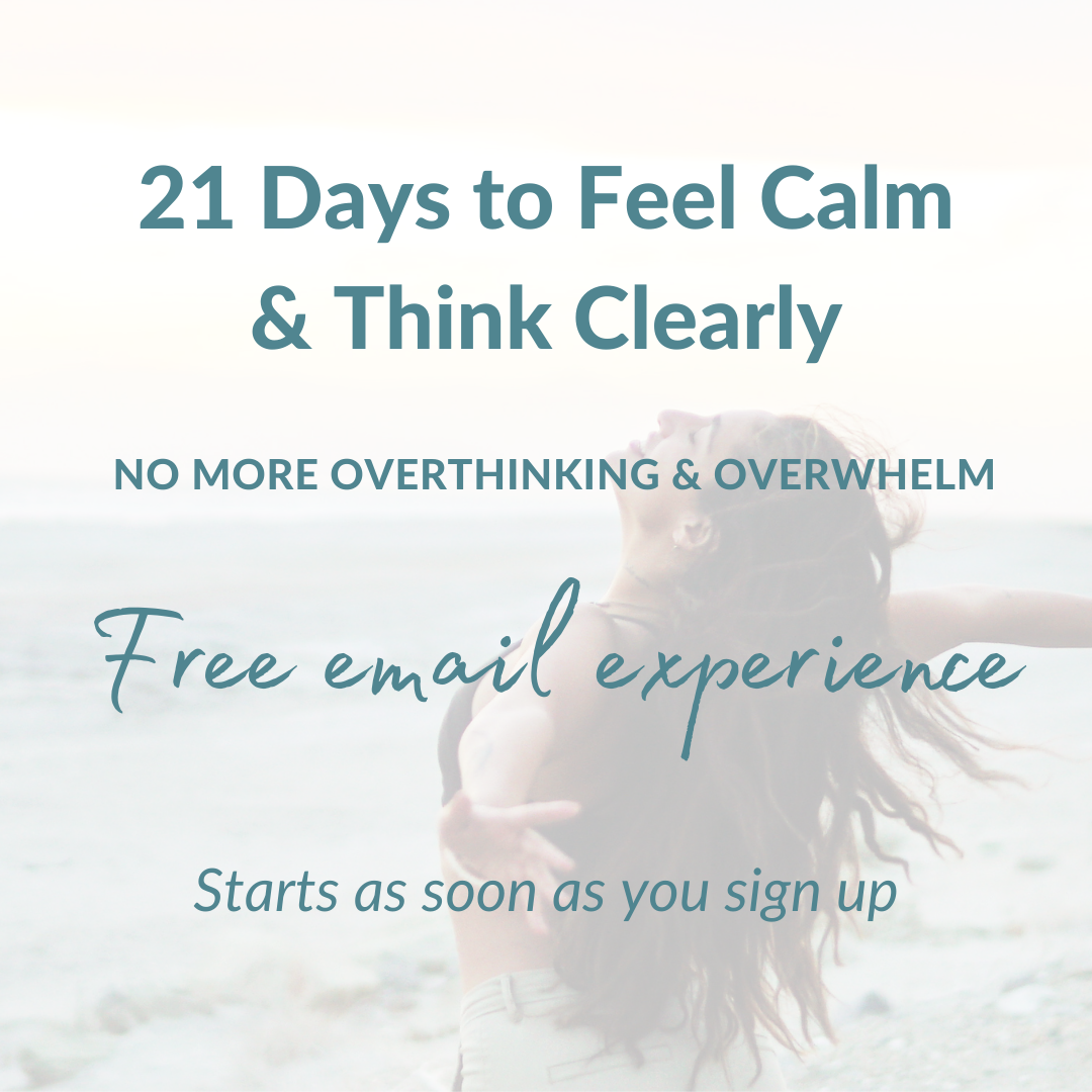 feel calm think clearly