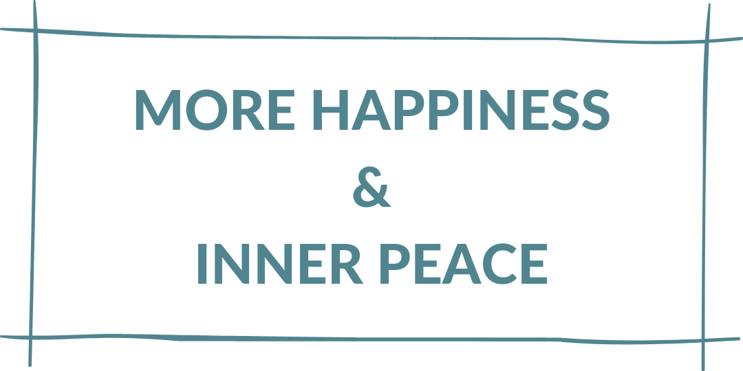 more happiness and inner peace