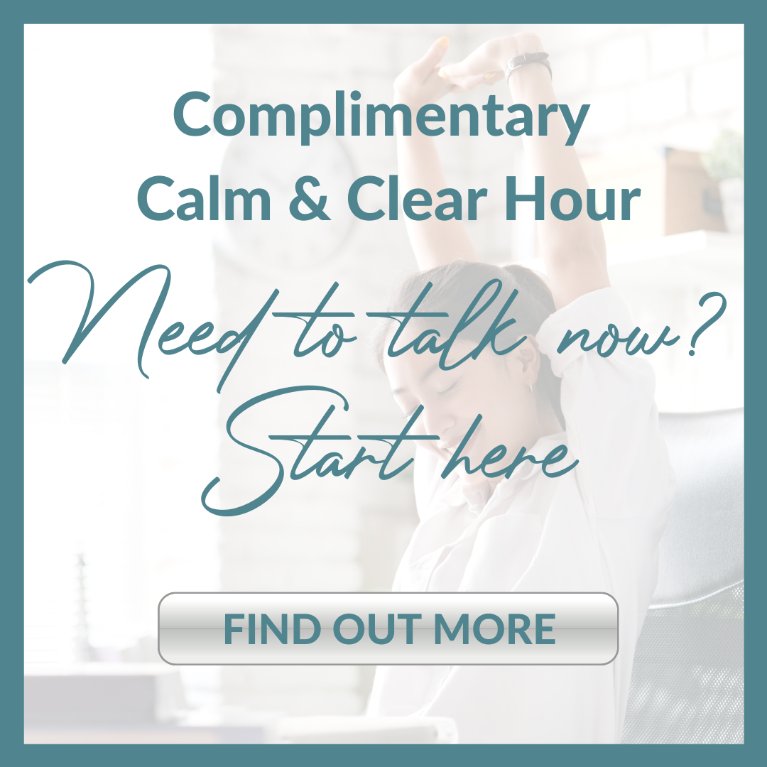 COMPLIMNETARY CALM & CLEAR HOUR