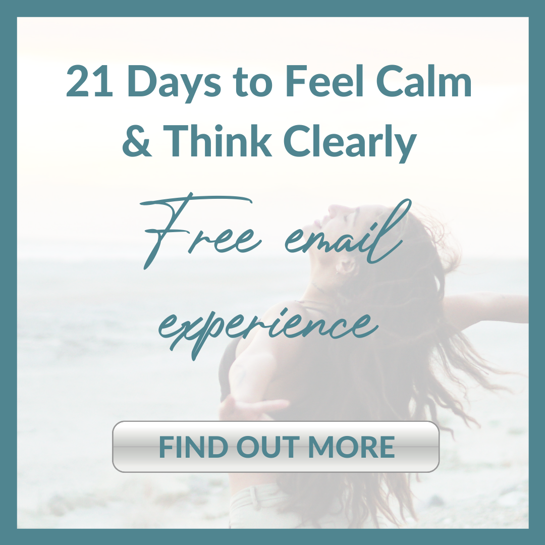 21 DAYS TO FEEL CALM & THINK CLEARLY