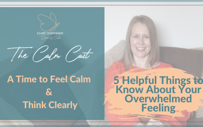 5 Things to Know About Your Overwhelmed Feeling.