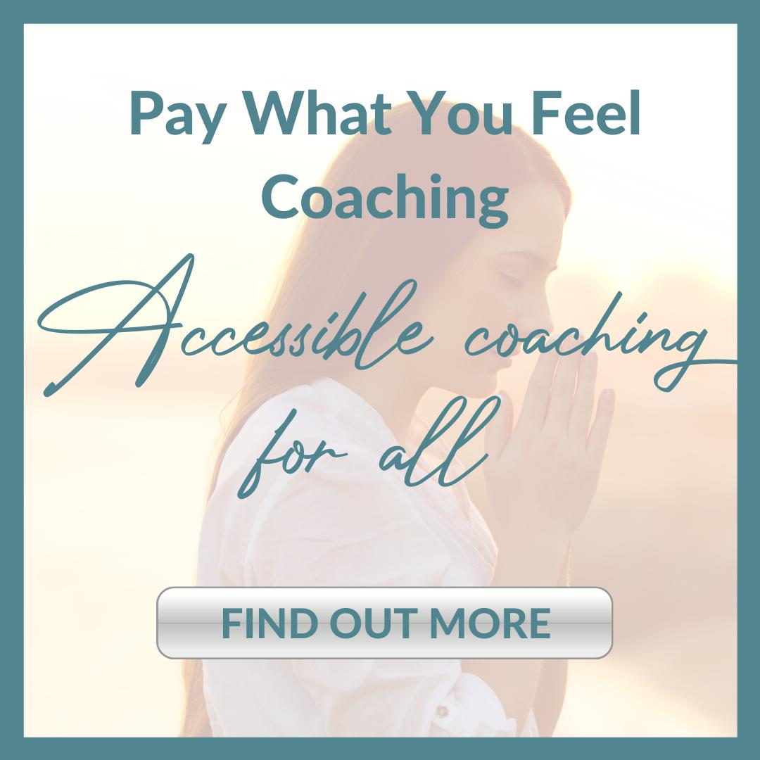 pay what you feel coaching